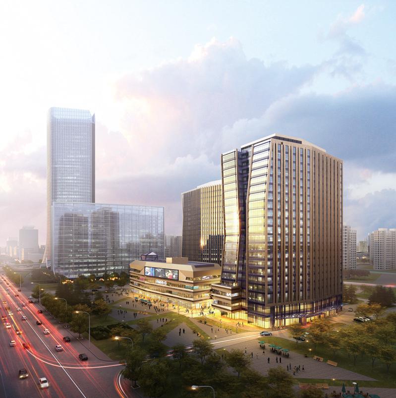 上海绿地北外滩商务中心